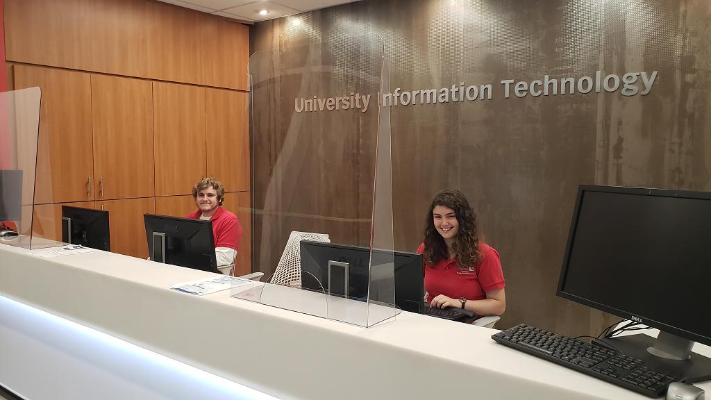UIT Service Desk Counter
